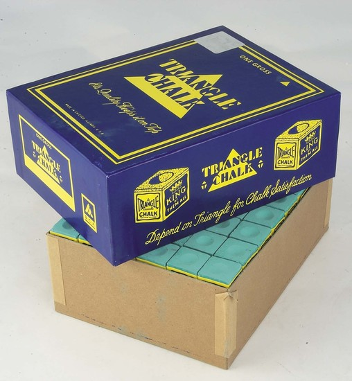 Green Chalk Box of 144 by Triangle