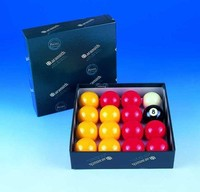 Aramith Red & Yellow Pool Balls
