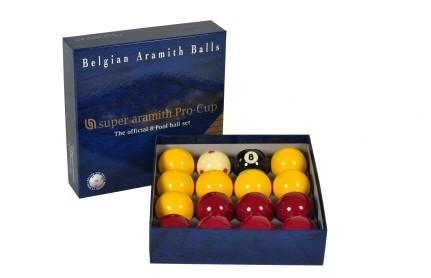 2 Super Aramith Pro Cup Pool Balls