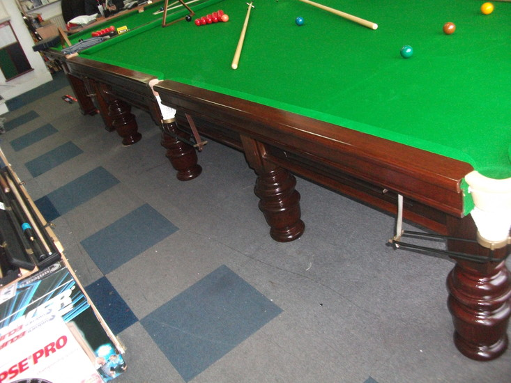 Full size 39 allied billiards 39 sovereign snooker for 12ft snooker table for sale uk