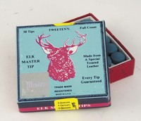 Elkmaster stick-on tips (Box of 50)