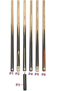 Peradon 1 Piece Snooker Cues