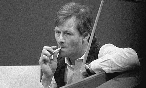 Alex Higgins B & W