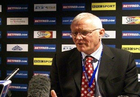 Barry Hearn at Crucible