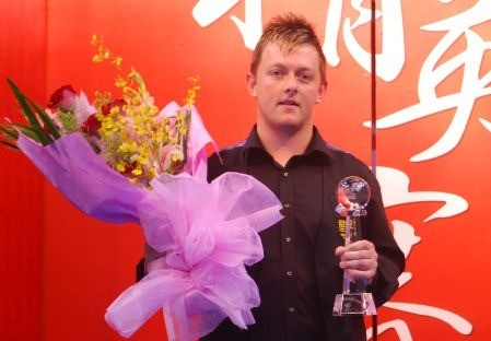 Mark Allen with Flowers