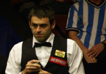 Ronnie at Crucible