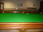 Recovered Snooker Table -the finished product.